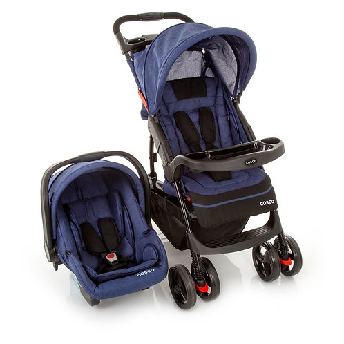 TRAVEL SYSTEM MOOVE DUO COSCO AZUL