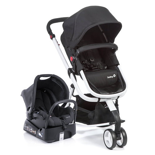 TRAVEL SYSTEM MOBI SAFETY 1ST BLACK & WHITE