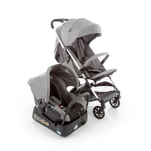 TRAVEL SYSTEM SKILL SAFETY 1ST GREY