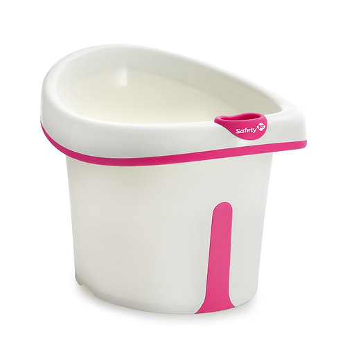 BANHEIRA BUBBLES PINK SAFETY 1ST