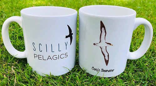 Scilly Pelagics Cory's Shearwater mug