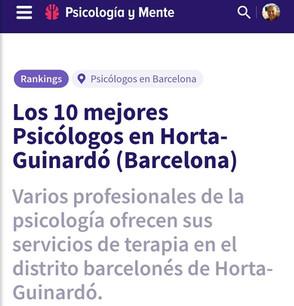 Xavier Aparicio Mejor Psicólogo Barcelona