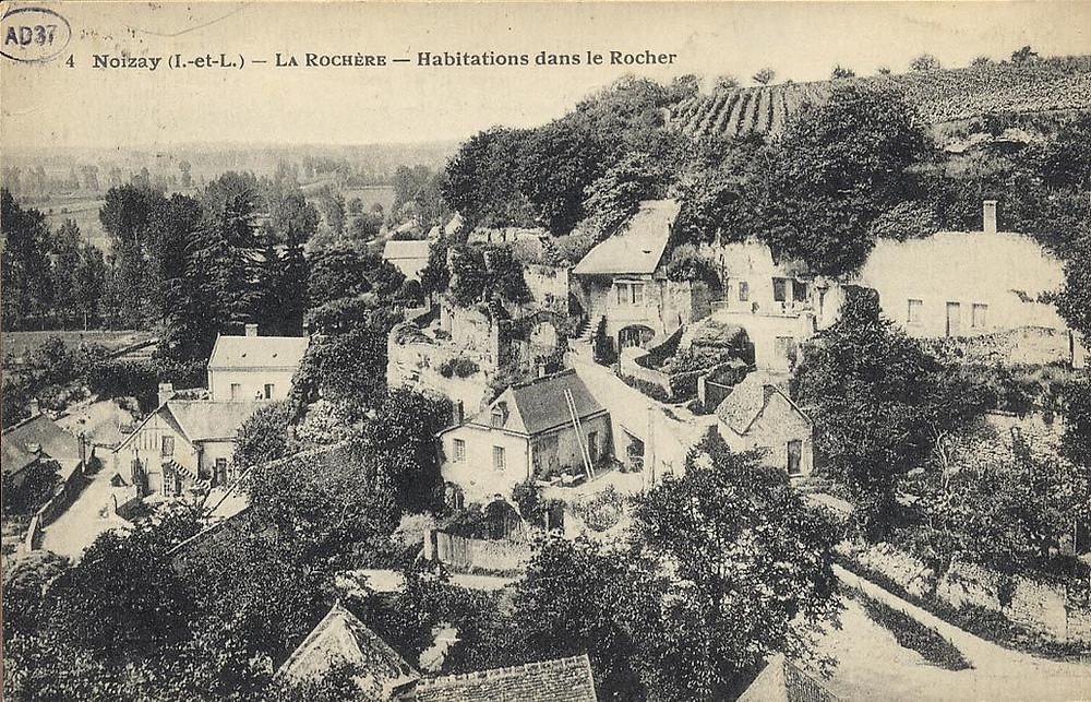 Maison troglodyte en Touraine