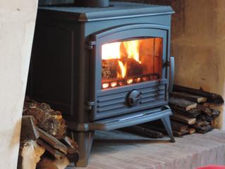 Séjour cocooning au coin du feu
