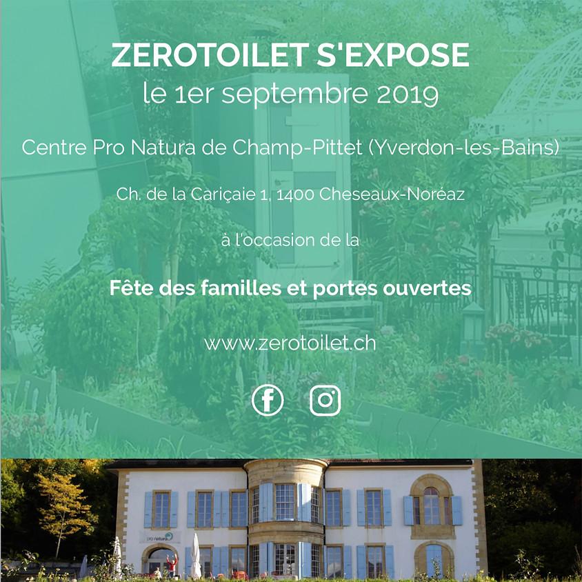 Exposition au centre Pro Natura de Champ-Pittet