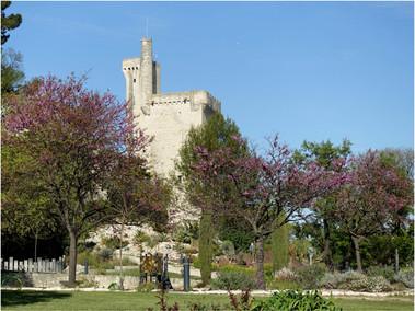 La tour Philippe Le Bel à Villeneuve-Lez-Avignon (Gard)