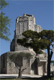 La Tour Magne à Nîmes (Gard)
