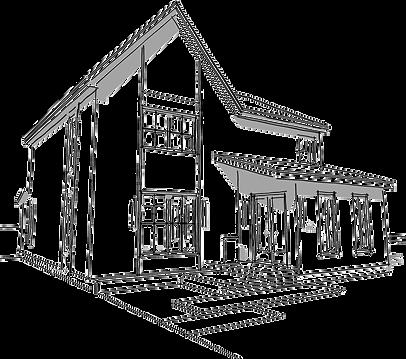 pnghut_architecture-product-sketch-facad