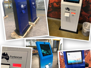 Complete Visibility - Fortescue Metals Group's new Training and Visitor Management kiosks.