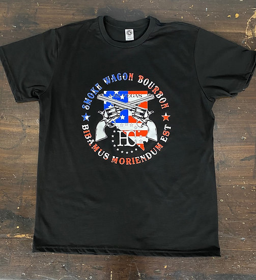 Smoke Wagon Flag Logo T