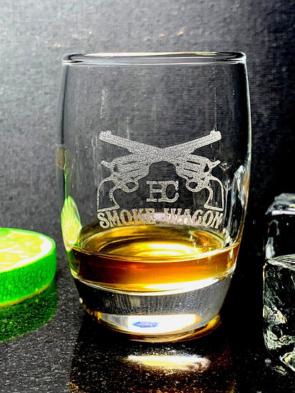 Smoke Wagon Barrel Shot Glass