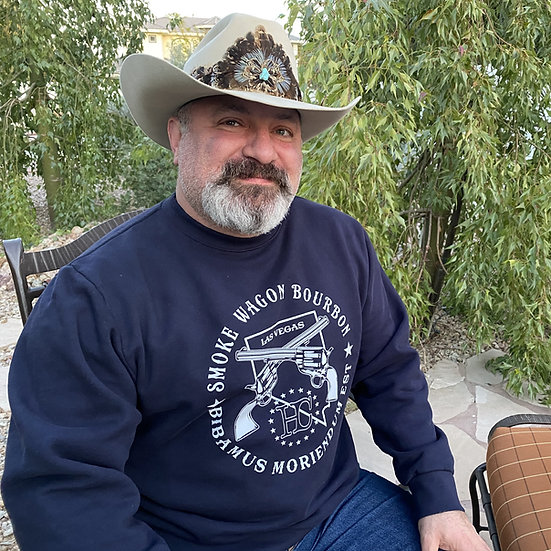 NV State Crewneck Sweatshirt size XL worn by Aaron