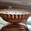Thumbnail: Vintage Oval Copper Jello Mold - 3 Wick - Raspberry Sangria