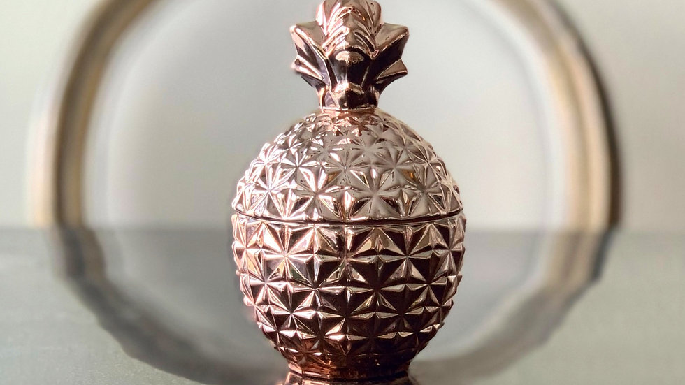 The Petite Pineapple Candle