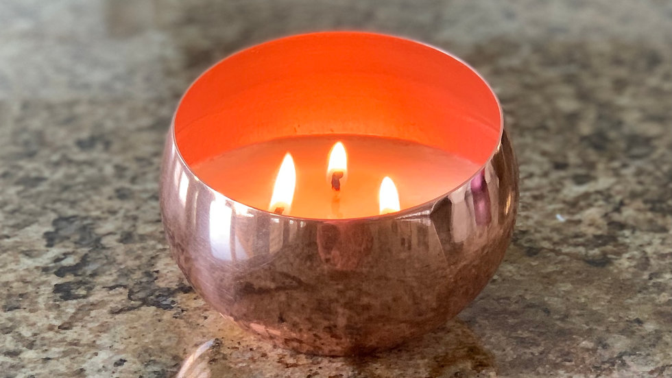 Always an Angle Candle - Rose Gold