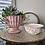 Thumbnail: White and Pink Floral Bowl - Summer Splash