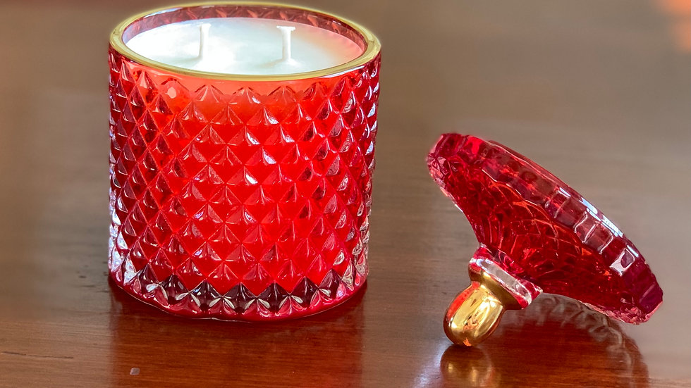 Moulin Rouge Candle - Ruby