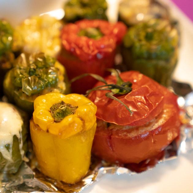 プロヴァンス風野菜肉詰め2