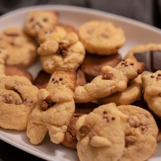 ねこのクッキー