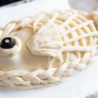 ほうれん草とサーモンのパイ