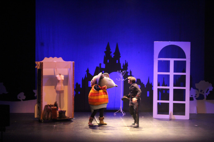 """El Musical: """"Cenicienta y el zapatito de cristal"""""""
