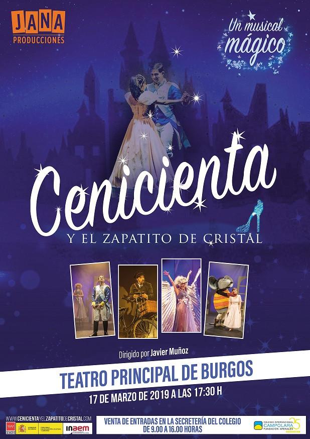 """Estreno en el Teatro Principal del musical """"Cenicienta y el zapatito de cristal"""""""