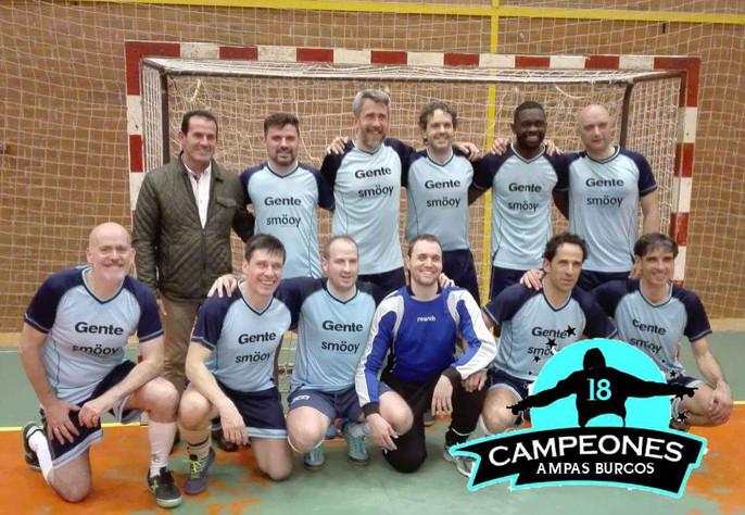 Campeones Torneo Copa AMPAS Burgos
