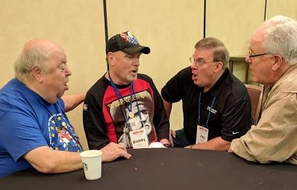 Brian Beck, Bobby Gray Jr., Jay Hawkins, and Bill Myers.