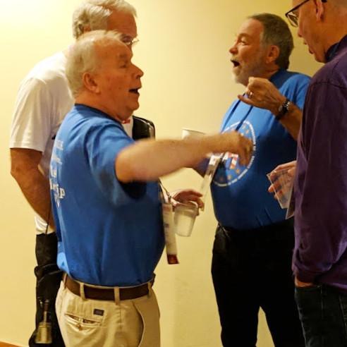 David Krause, Jim Bagby, Bill Biffle, and Matt Moore.