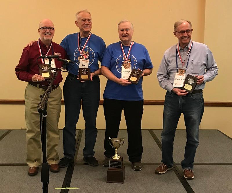 Old Codgers Quartet Champs, Senior Moments