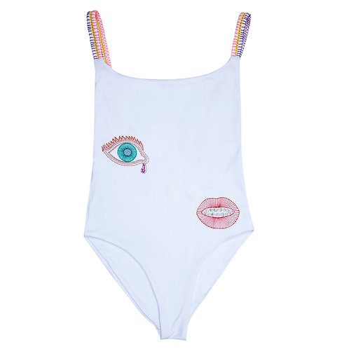 Melting Kiss Embroidered One Piece