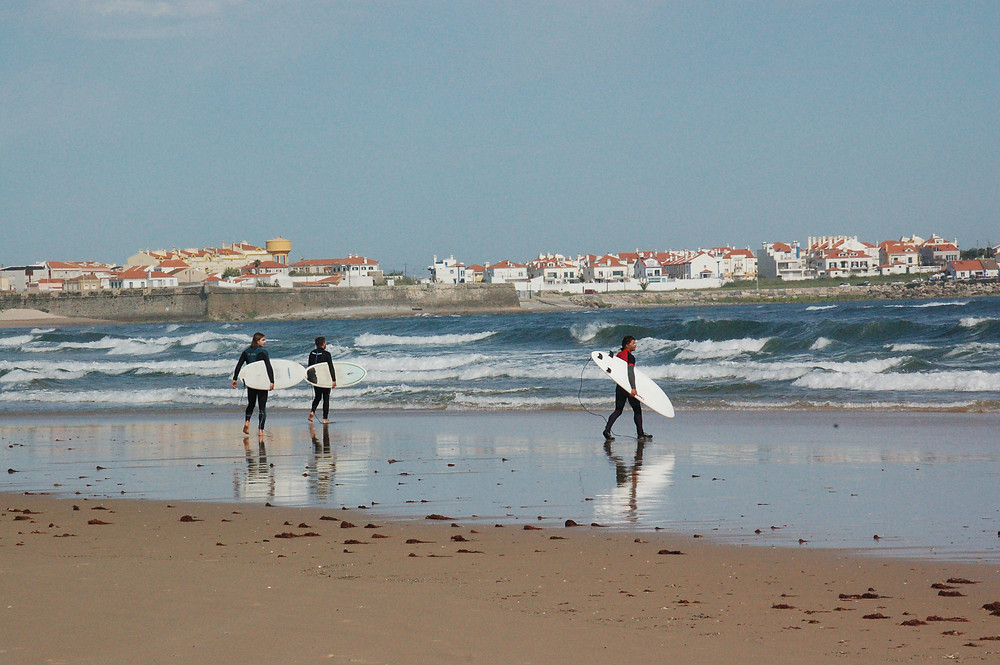 Peniche Advanced Surf Lessons