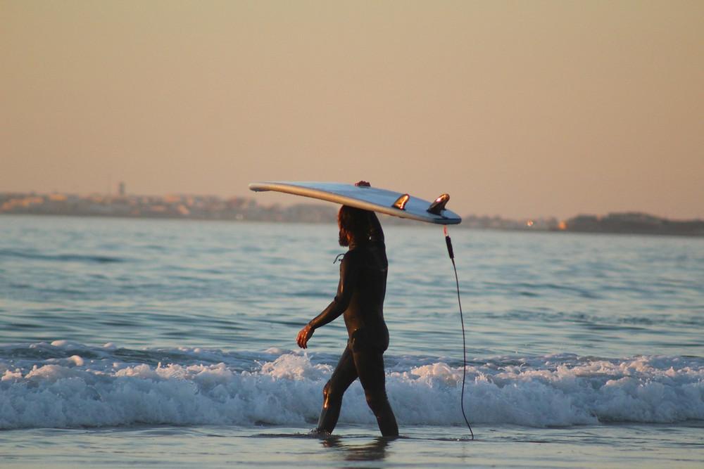 Surfcamp Portugal Sunset