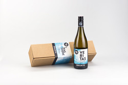 Wine bottle and packaging