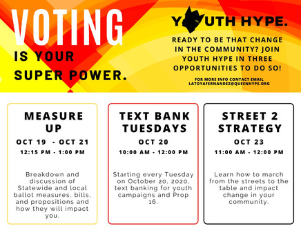 Voting is Your Super Power Flyer