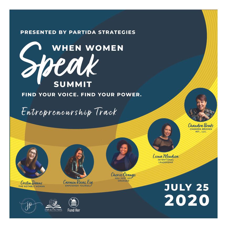 When Women Speak