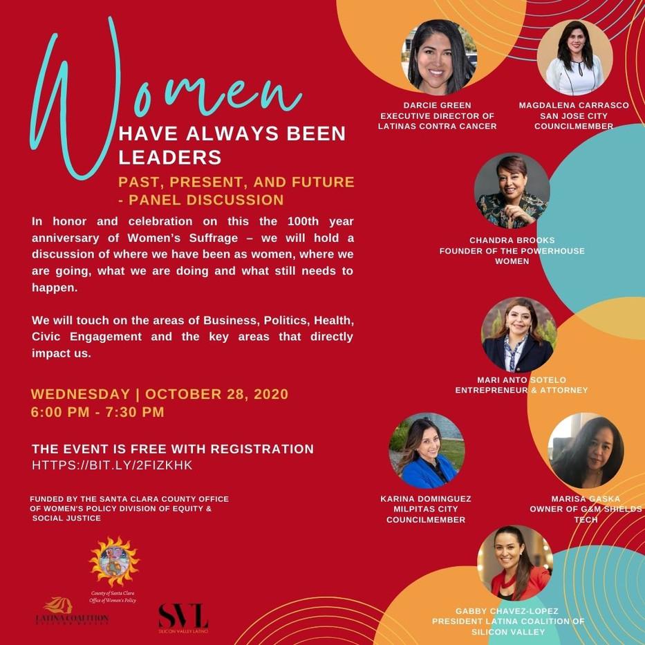 Women Have Always Been Leaders Flyer