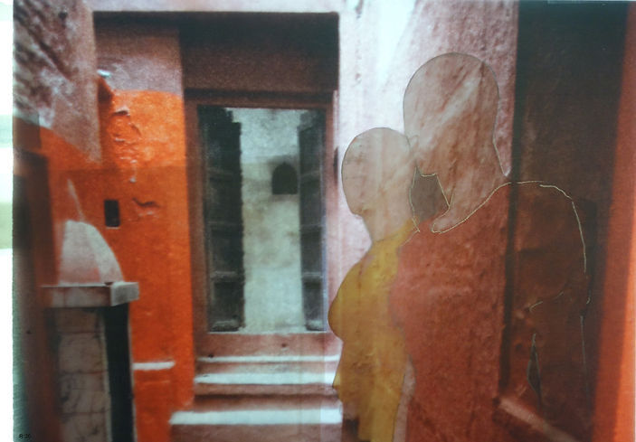 web collage 'Varanasi 2020