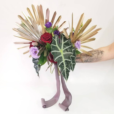 Handheld Design for Round 3 of Floriology Institute's #TeachFloralContest2019