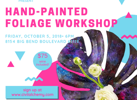 Painted Foliage Hands-on Workshop
