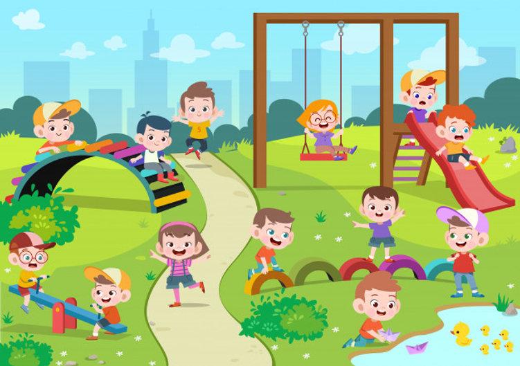 ninos-ninos-jugando-ilustracion-infantil