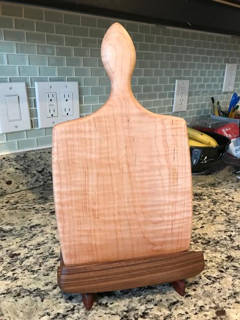 Cutting Board/Cookbook Stand