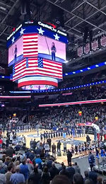 Singing of the National Anthem