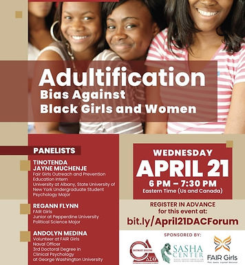The Adultification of Black Girls and Women with Andolyn Medina as a Panelist
