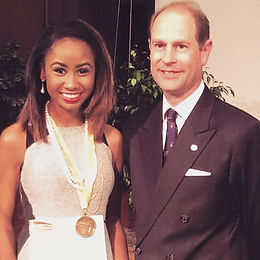 Reflection of May 2015, received the Duke of Edinburgh's Gold medal