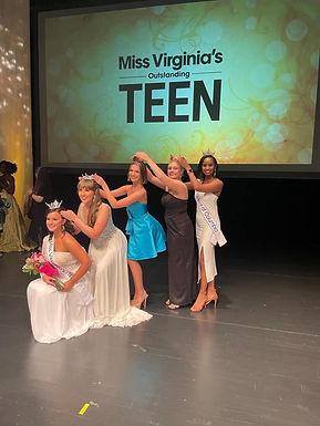 Miss Virginia's Outstanding Teen 2021