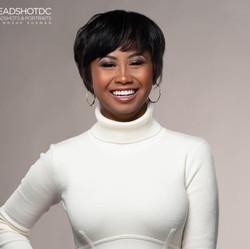 Andolyn Medina Miss DC Headshot
