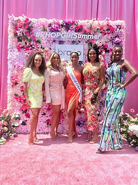 TeaTime On The Potomac with the Real Housewives of the Potomac and interviewed with BRAVO