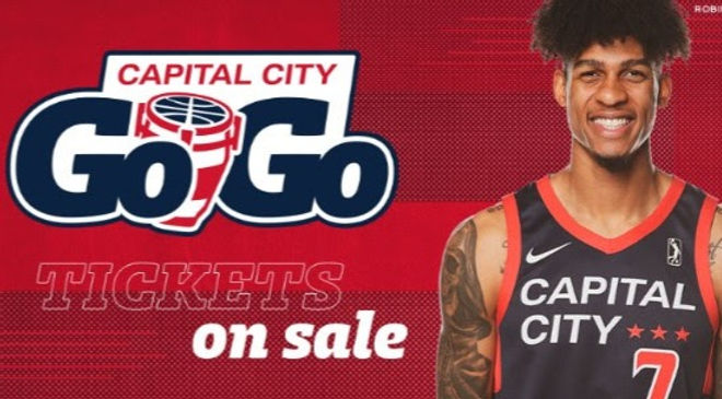 I will be performing the National Anthem for The Capital City Go-Go (NBA G League for the Wizards)