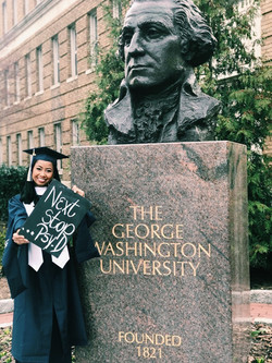Andolyn Medina, GW graduate